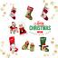 thumbnail 1 - PERSONALISED PET CHRISTMAS SANTA SACK EMBROIDERED NAME COSTUME STOCKING