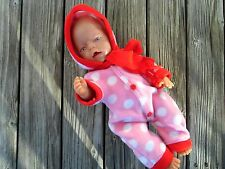 SCHNEEANZUG SKIANZUG + Schal für Puppen Baby born Chou Krümel Gr. 40-43 Kleidung