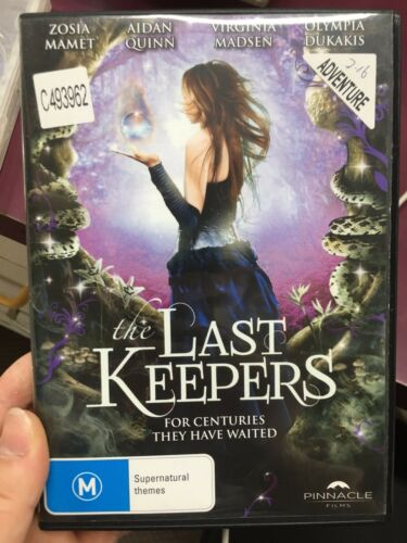1 of 1 - The Last Keepers ex-rental region 4 DVD (2013 fantasy movie)