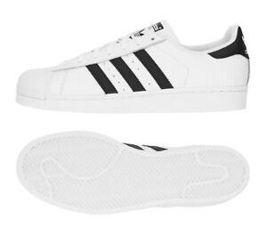 Hombres Adidas Superstar : Zapatillas de deporte auténticas