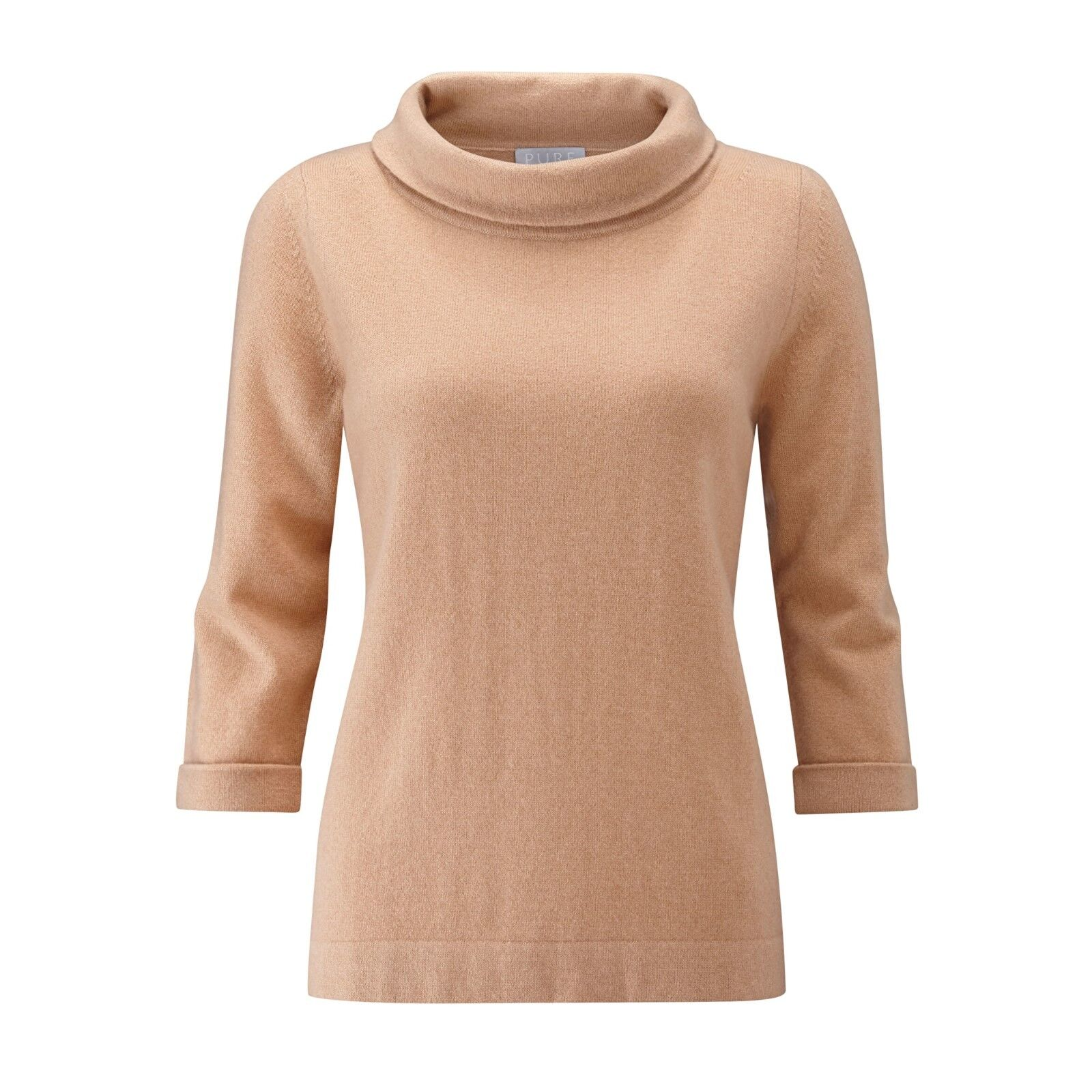 Collection Pure BNWT Cashmere 12 Größe UK Gingerbread