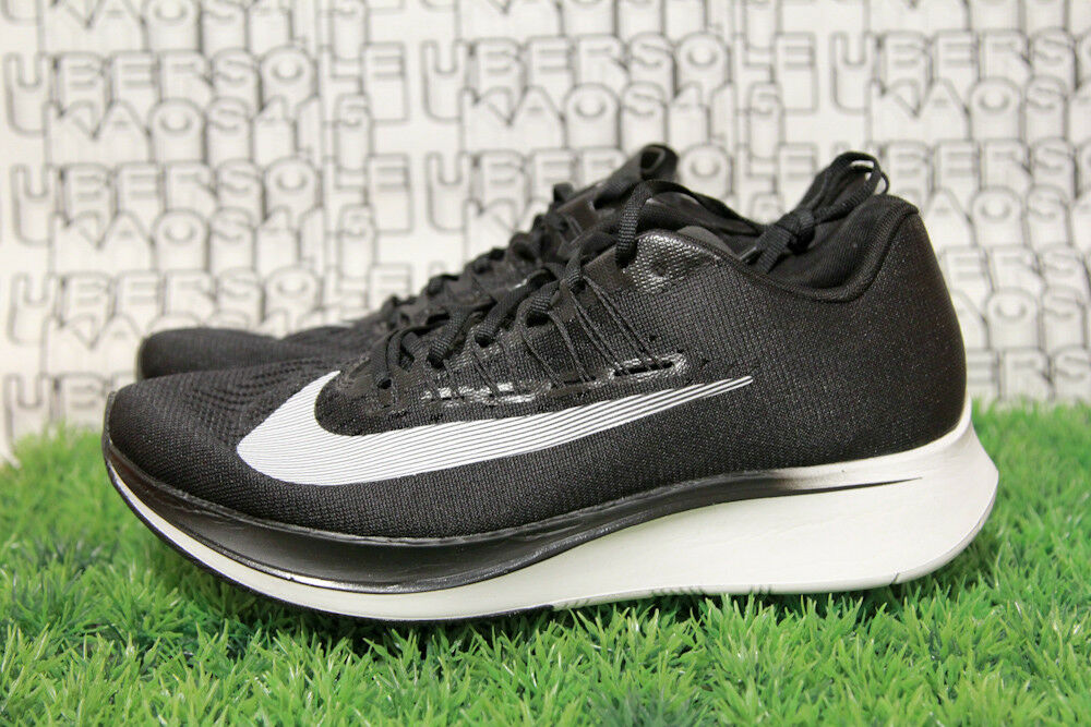 new concept 8be4a 3b62d Nike Nike Nike Zoom Fly Running Marathon 897821 001 Black White Grey qs sp  WOMEN 9