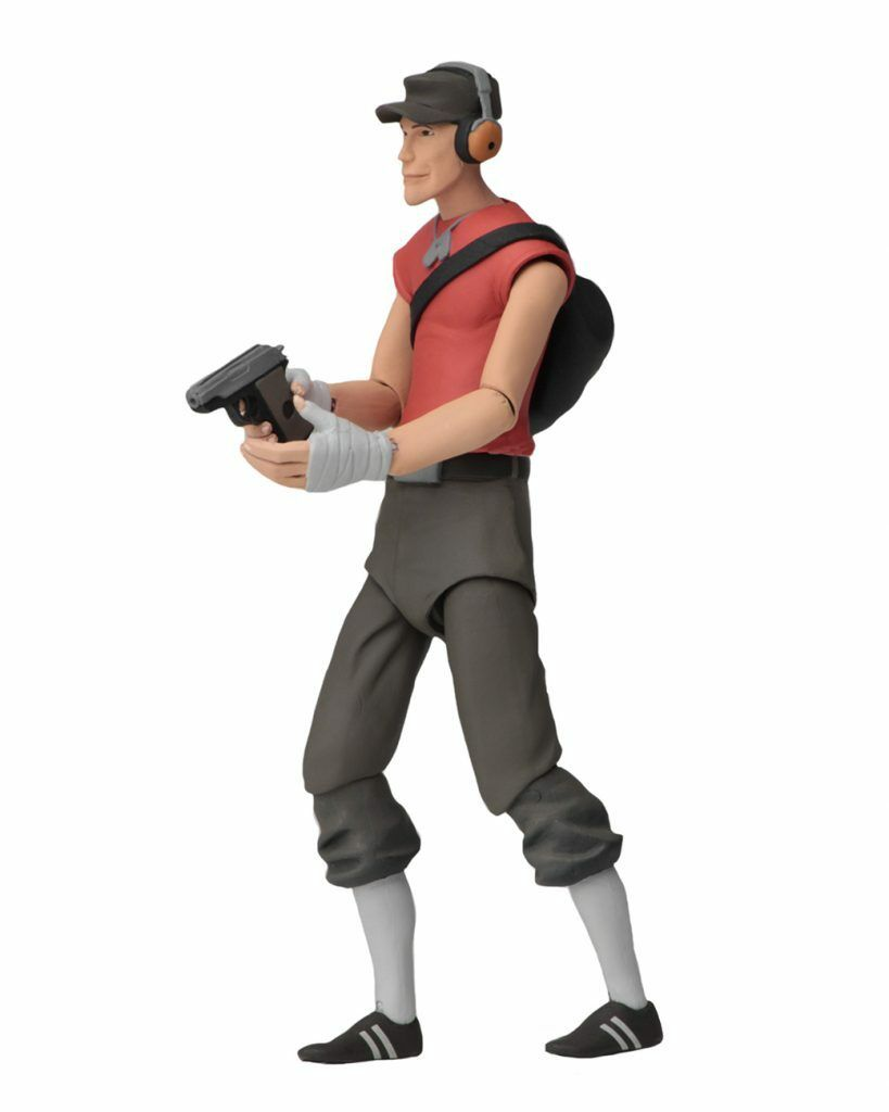 NECA Team Fortress 2 rot rot rot Scout Series 4 Action Figure IN STOCK 95ba1e