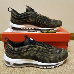 Nike Air Max 97 Premium QS Camo France Country Pack Size 8 UK ... eddf646fc
