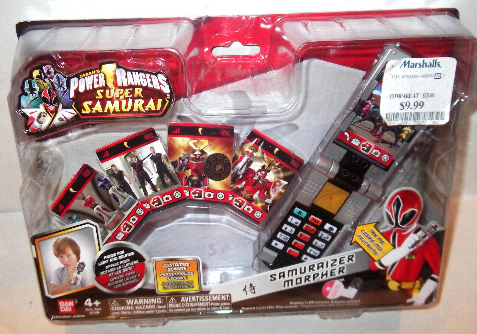 ✰ HOT HOT ✰ Power Rangers SUPER Samuraizer PHONE MORPHER ✰ role play ✰ NEW MISB