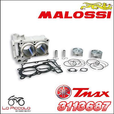 3113687 GRUPPO TERMICO BI-CILINDRO MALOSSI 560 YAMAHA TMAX T-MAX 500 2004-2007