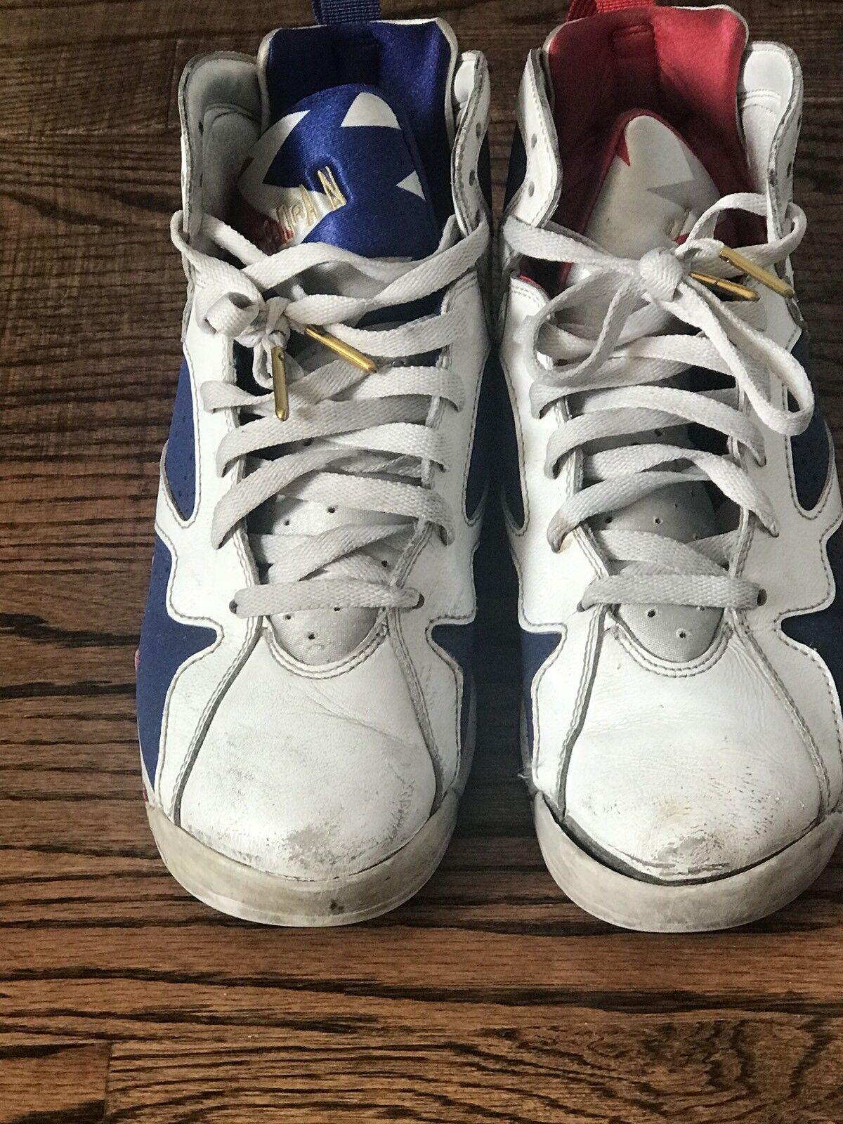 """Nike Air Jordan 7 Retro """"Olympic"""" Comfortable Comfortable and good-looking"""
