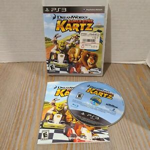 Playstation 3 PS3 2011 DreamWorks Super Star Kartz Activision Game CIB Complete