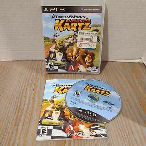 Playstation-3-PS3-2011-DreamWorks-Super-Star-Kartz-Activision-Game-CIB-Complete