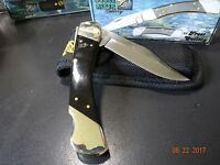 Ocoee River 5 Lock Back Blade Folding Knife Buffalo Hor Handle 440a German S.s.