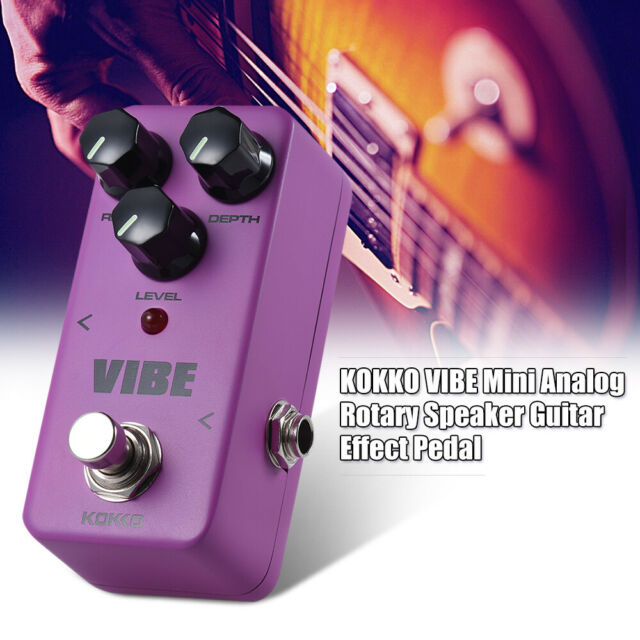 Vibe Analog Rotary Guitar Effects Mini Effect Pedal Ture bypass