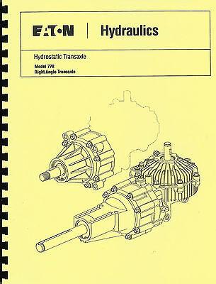 Eaton 751-851-771-781 Hydrostatic Trans Repair Manual