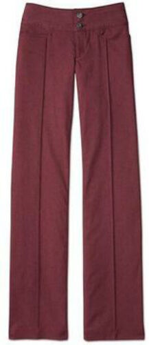 NWT Athleta 4 GATEWAY PANT Port Wine Stretch Water Resistant Hike Travel Trouser