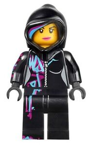 LEGO-The-LEGO-Movie-70801-WYLDSTYLE-HOODED-Minifigure-NEW-WILDSTYLE