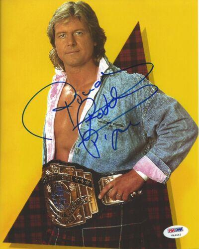 Rowdy Roddy Piper Signed WWE 8x10 Photo PSA//DNA COA Wrestlemania VIII 8 Picture