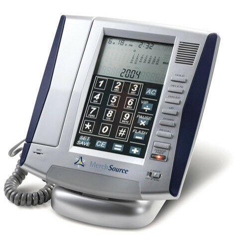Innovage LCD Touch Panel Land Line Phone Speaker Caller ID C