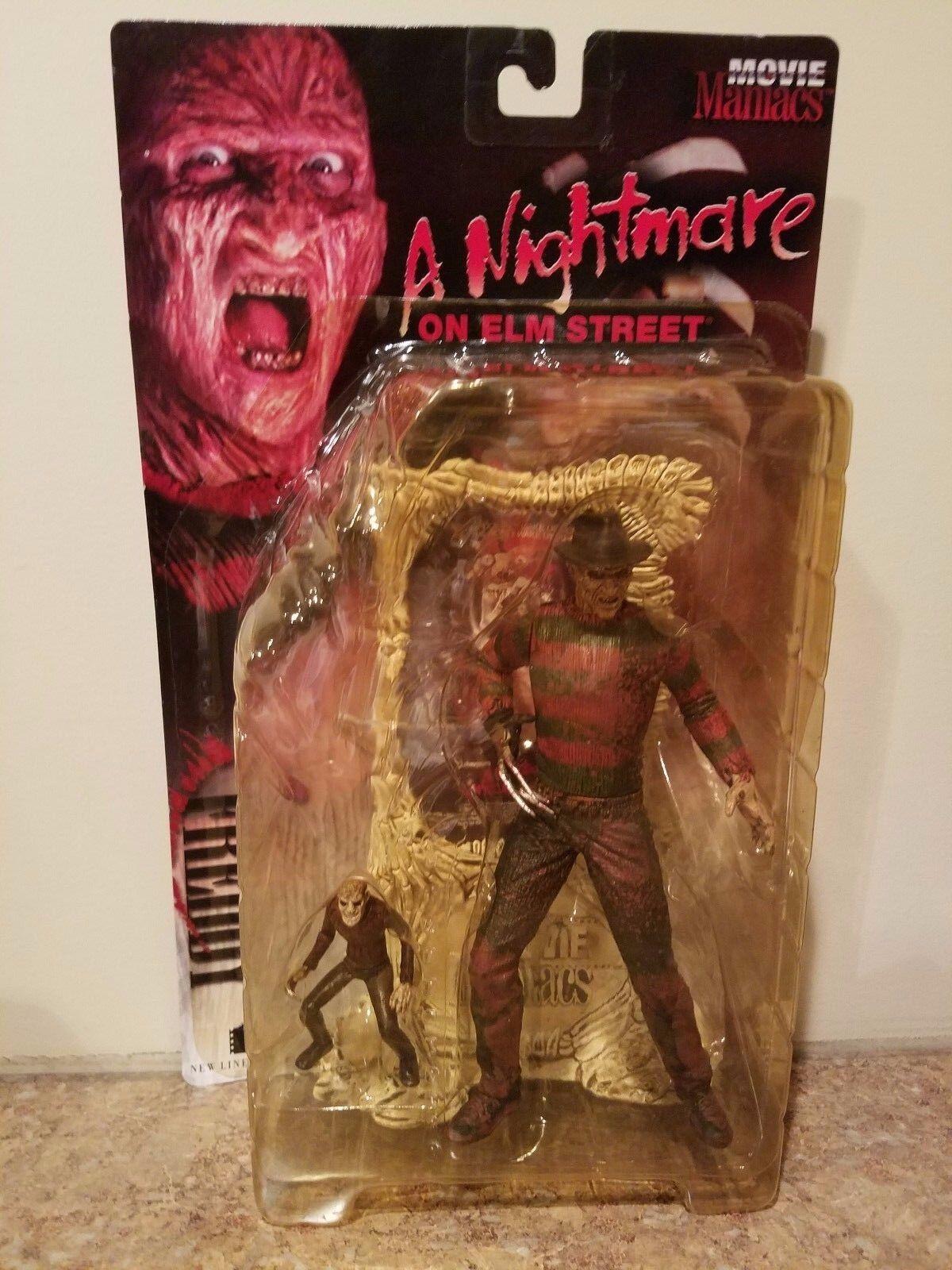 Movie Maniacs Series 1 FrossoDY KRUEGER 7  Action Figure McFarlane Toys brand new