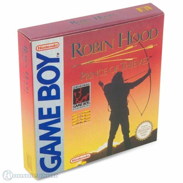 GameBoy jeu - Robin Hood: Prince of Thieves dans l'emballage utilisé COMME NEUF