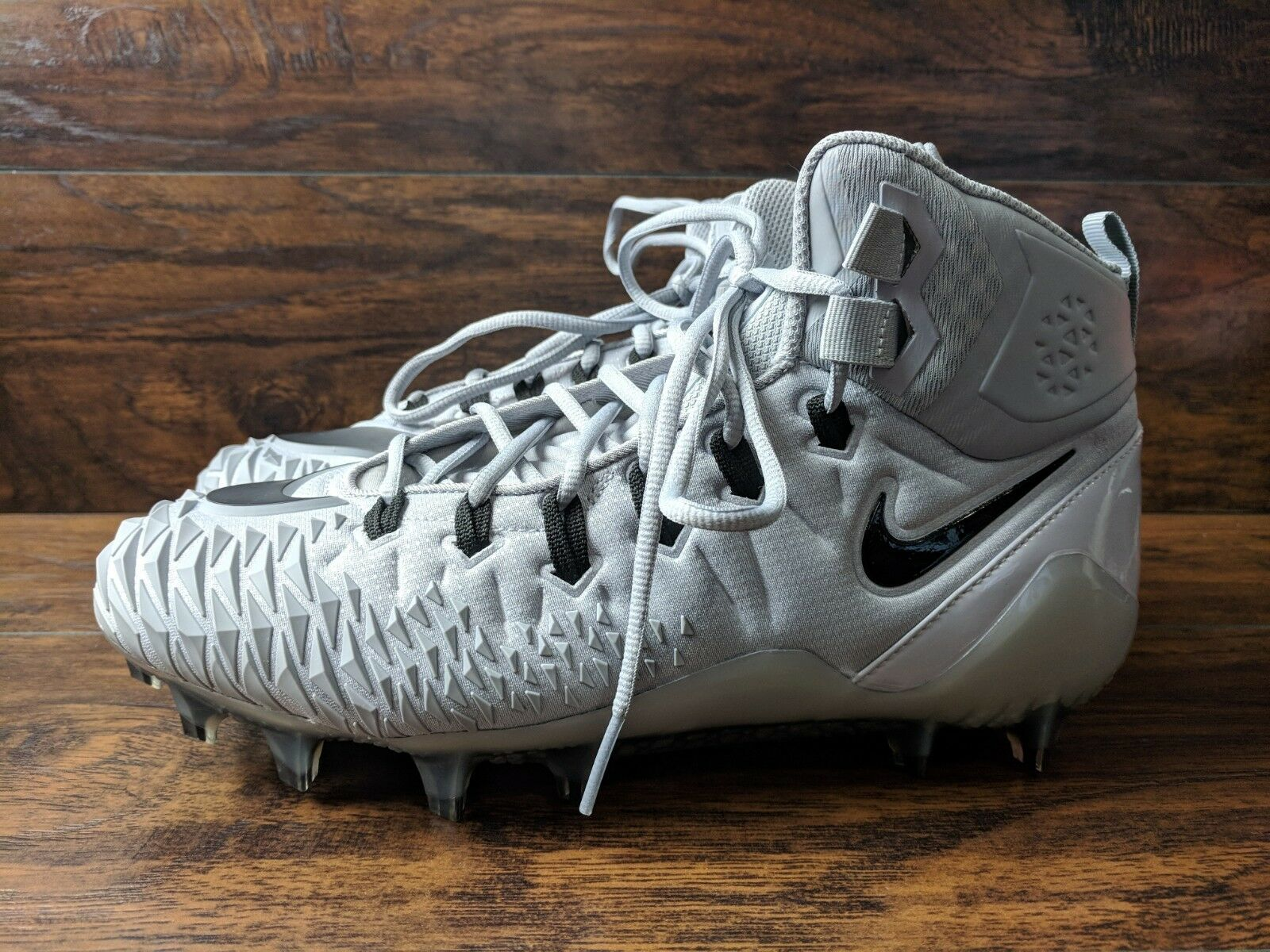 nouvelle force td sauvage pro td force hommes nike taille 11 crampons gris - gris 7c57a9