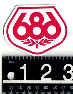 Image Is Loading 686 SNOWBOARD STICKER Six Eight 3 In