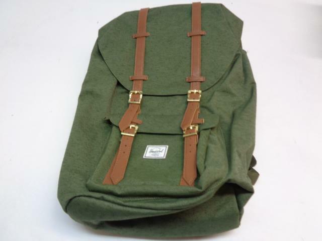 high quality materials fine craftsmanship separation shoes Herschel Supply Co. Little America Deep Lichen Green 25l Backpack