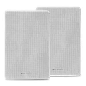 Pure-Acoustics-Professional-In-Wall-Installation-Speaker-White-Pair