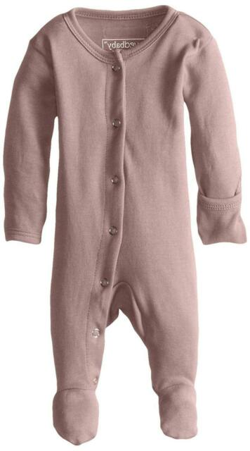 Lovedbaby Unisex-Baby Organic Cotton Footed Overall