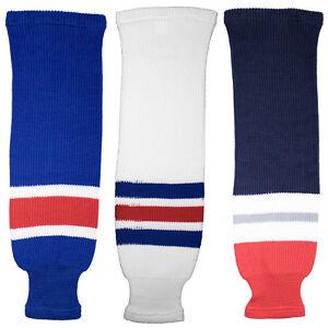 New-York-Rangers-Knitted-Classic-Hockey-Socks-Navy-Royal-White