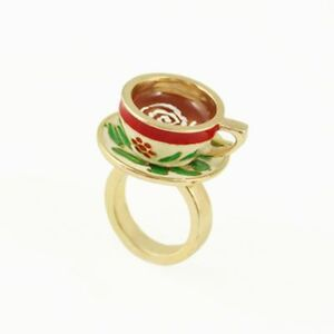 Alice-in-Wonderland-tea-coffee-cup-pot-set-charm-ring-multiple-choices