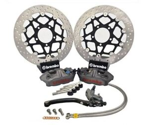 Details about Kawasaki ZX6R 636 B1H 03 04 Brembo M4 Superbike Upgrade Kit