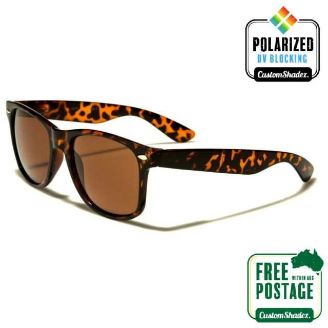 Brown Lenses Fishing Polarised Sunglasses Fox Chunk Eyewear Tortoise