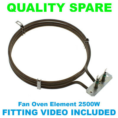 Baumatic Fan Oven Cooker Element  irca 230v 2300w Heating Heater 3 Turn