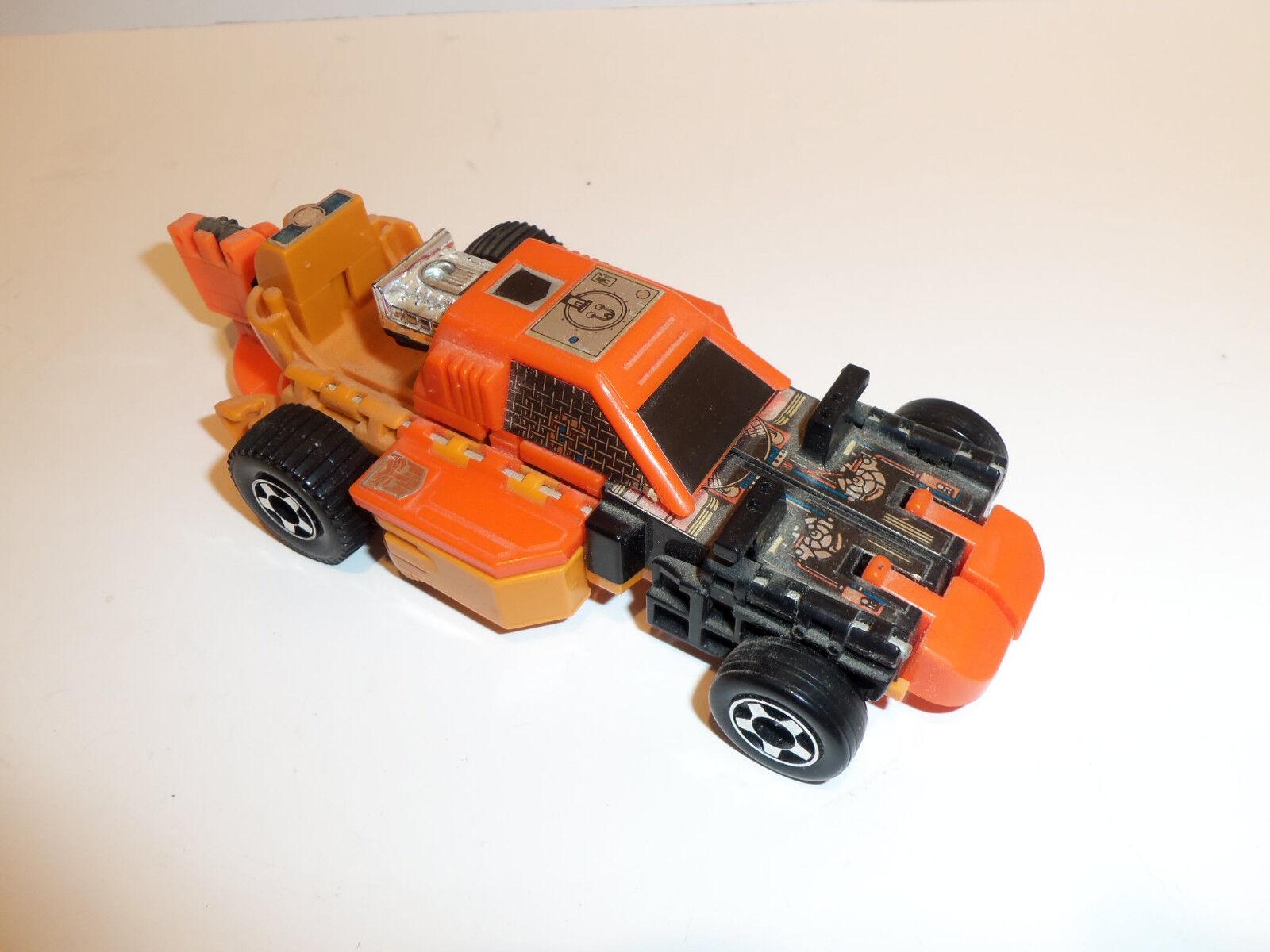Vintage 1986 Hasbro G1 Transformers Standstorm Triplechanger 99%  Complet Ample  articles de nouveauté