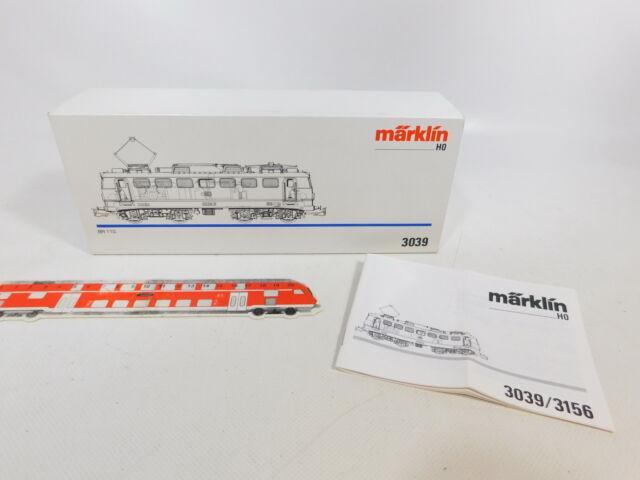 CE14-0, 5 #märklin H0 Empty Box with Description for 3039 E-Lok 110 234-2,VG