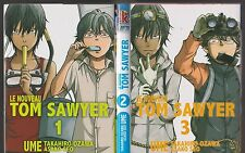 LE NOUVEAU TOM SAWYER tomes 1 à 3 UME Ozawa Seo manga seinen SERIE COMPLETE