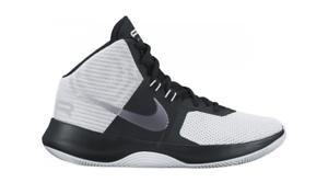 Nike AIR PRECISION White Metallic Cool Grey Black 898455-102 Men's shoes