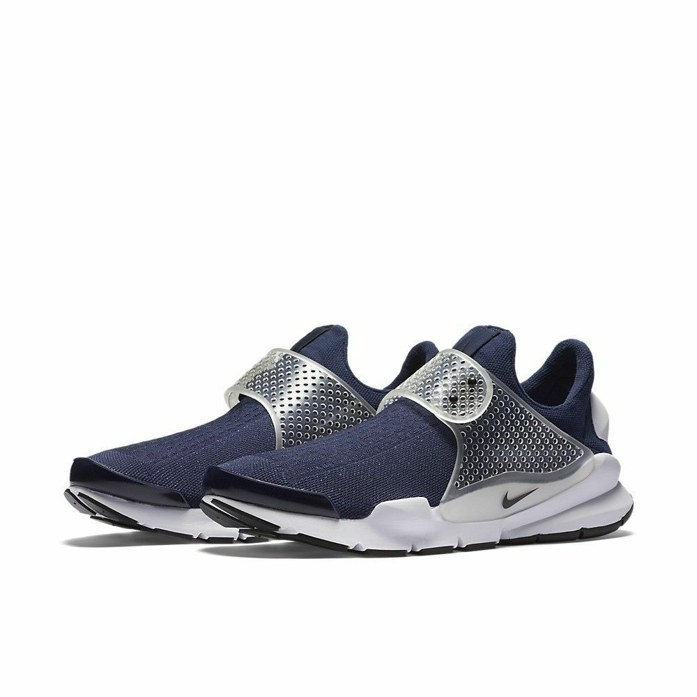 Nike Sock Dart Men's Running shoes Navy Black White 819686-400 Size 13 NEW  130
