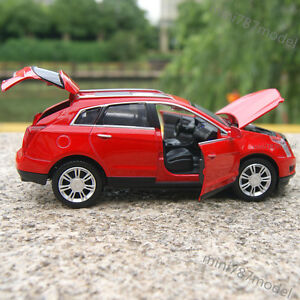 Cadillac-SRX-SUV-1-32-Model-Cars-Sound-amp-Light-Alloy-Diecast-Red-Collections-amp-Gifts