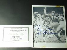 Rosey Grier L.A Rams 1956 NFL Champs Signed Autograph Photo with COA #F13 jbv