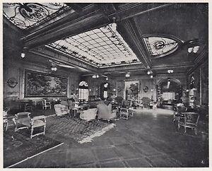 D2078-Salone-di-Musica-classe-di-lusso-del-Duilio-Stampa-d-039-epoca-1923-print