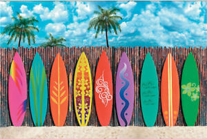 Surf-039-s-Up-Surfboard-Backdrop-PHOTO-PROP-Surfing-Party-Pics-Beach-Luau-Decoration
