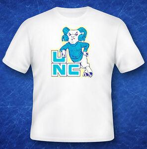 Vintage decal t shirt tee shirt university of north for University of north carolina t shirts