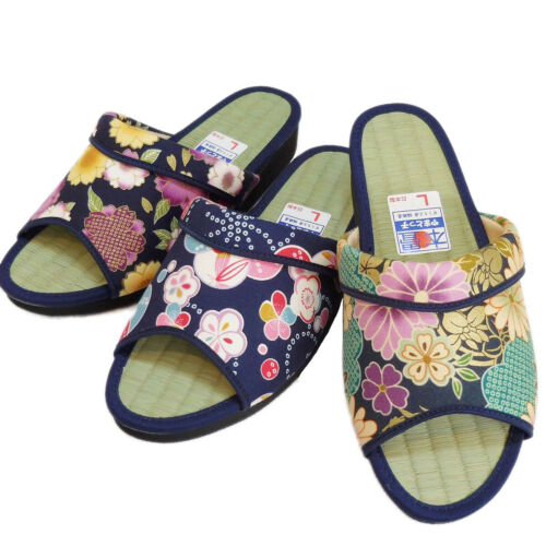 JAPANESE Ladies/'s Kimono Zori Igusa Tatami Geta rush Sandals Mule M-LL Japan