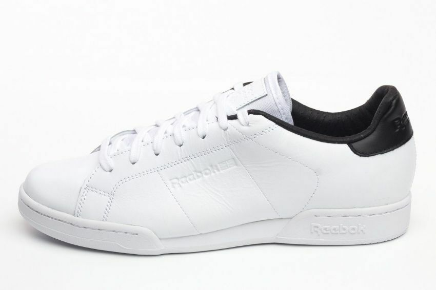 Uk size 6 - reebok npc II el leather trainers v62765