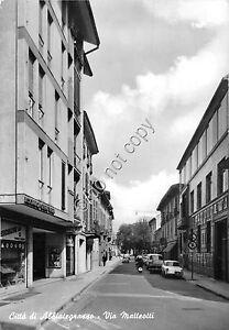 Cartolina-Postcard-Abbiategrasso-Via-Matteotti-anni-039-50