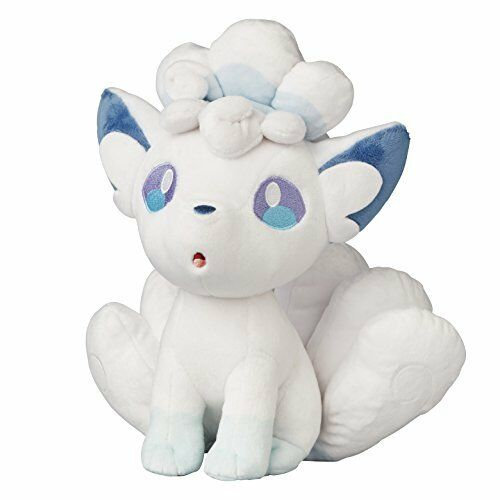 Äkta Pokemon Center Original Plush Doll Snow Festival Alola Vulpix