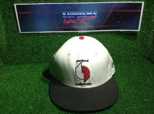 Trapunta Vintage 90s Portland Trailblazers NUOVA ERA HWC 7 3/8 NBA BASKETBALL Flexfit Cap