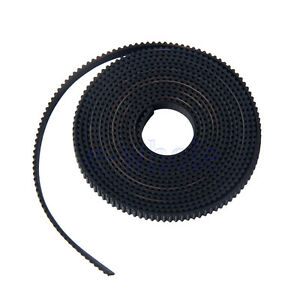 2M 3D Printer GT2 Timing Belt - 2mm Pitch, 6mm Width For Reprap Mendel Prusa DT 690119954990