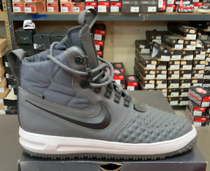 Sale   Nike Lunar Force LF1 Duckboot 17 Men's Basketball Boots Grey 916682 003 K
