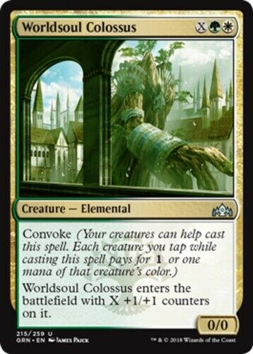 Worldsoul Colossus x4-Guilds of Ravnica-Quase Perfeito-Estado Perfeito Inglês-Guilds of Ravnica